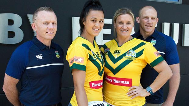 Harvey Norman Jillaroos ANZAC Test team -
